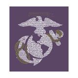 The Marine Emblem Prints
