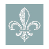 Louisiana Fleur De Lis (Cities) Posters
