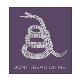 Don'T Tread On Me Plakater
