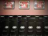49ers Locker Room Photographic Print by Eric Risberg