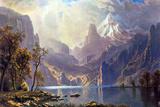 Albert Bierstadt Lake Tahoe Poster Prints