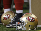 San Francisco 49ers Helmets Photo av Dave Martin