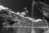 Oeschinensee Bw Photographic Print by Philippe Sainte-Laudy
