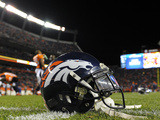 Denver Broncos Helmet Photo by Jack Dempsey