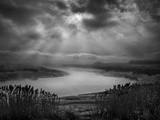 Rays of Light over the Marshesf Photographic Print by Adrian Campfield