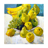 Bowl of Fruit Giclee Print by Dale Payson