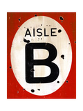 Red Aisle B Art by JB Hall