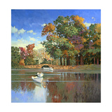 Early Autumn in the Loire Giclee Print by Max Hayslette