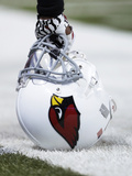 Arizona Cardinals Helmet Fotografisk trykk av Mike McGinnis