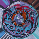 Kaleidoscope of Color Photographic Print by Margaret Morgan