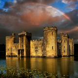 Moods over Bodiam Photographic Print by Adrian Campfield