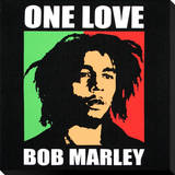 Bob Marley: One Love Stretched Canvas Print