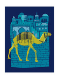 Camel Fes Giclee Print