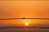 Sunset Crossing Photographic Print by Adrian Campfield