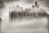 Warwick Castle in the Fog Photographic Print by Adrian Campfield