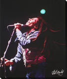 Bob Marley: Live In Concert Stretched Canvas Print