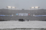 Ravens Huddle Photo av Patrick Semansky