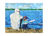 Calm 1 Matthews Beach Giclee Print by Mark Fraley