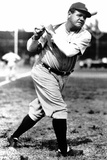 Babe Ruth At Bat Sports Poster Photo