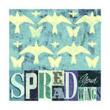 Spread Your Wings 1 Prints by Stella Bradley