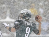 Nick Foles Photographic Print by Michael Perez
