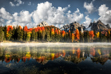 Misurina Antorno Lake Photographic Print by Marco Carmassi