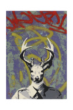 Mr. Buck Giclee Print by  Urban Soule