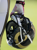 St. Louis Rams Helmet Photo by Bob Leverone