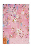 French Wallpaper Pink Giclee Print by Kathe Fraga