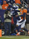 NFL Playoffs 2014: Jan 12, 2014 - Broncos vs Chargers - Keenan Allen Plakater av Jack Dempsey