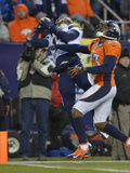 NFL Playoffs 2014: Jan 12, 2014 - Broncos vs Chargers - Keenan Allen Photographic Print by Jack Dempsey