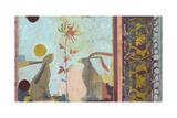 Rococo Rabbits Prints by Ciela Bloom
