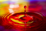 Water Drop 2 Photographic Print by Margaret Morgan
