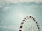 Seattle Great Wheel 1 Premium Photographic Print by Mimi Payne