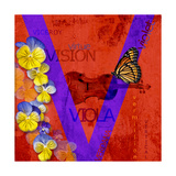 V Giclee Print by  P. H. Viola Photography