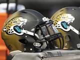 Jacksonville Jaguars Helmets Photo av John Raoux