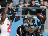 NFL Playoffs 2014: Jan 12, 2014 - 49ers vs Panthers - Steve Smith Photo af Chuck Burton