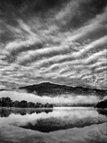 Skies over Grassmere Mono Photographic Print by Adrian Campfield