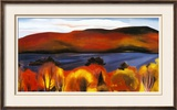 Lake George, Autumn, 1927 Print by Georgia O'Keeffe