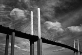 Clouds over Dartford Bridge Photographic Print by Adrian Campfield