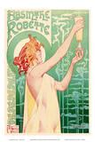 Absinthe Robette - Art Nouveau Nude Belgian Posters