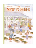 The New Yorker Cover - May 6, 1985 Premium Giclee Print by Anne Burgess