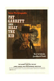 Pat Garrett and Billy the Kid Plakat