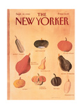 The New Yorker Cover - September 30, 1985 Regular Giclee Print by Abel Quezada