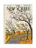 The New Yorker Cover - November 7, 1970 Regular Giclee Print by Abe Birnbaum