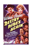 Destry Rides Again Posters