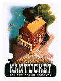 Nantucket - The New Haven Railroad Prints by Ben Nason