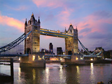 Tower Bridge at Dusk Photographic Print by Adrian Campfield