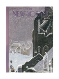 The New Yorker Cover - December 23, 1944 Premium Giclee Print by Rea Irvin
