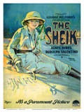 The Sheik - Motion Picture Starring Agnes Ayres and Rudolph Valentino Posters